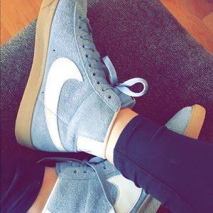 official photos c1ecf e4752 Urban Outfitters Shoes - RARE Nike Blazer Mid Vintage Suede Sneaker